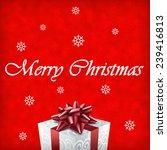 merry christmas gift... | Shutterstock . vector #239416813