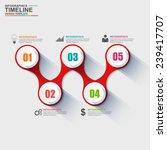 infographics vector design... | Shutterstock .eps vector #239417707
