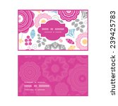 vector vibrant floral scaterred ... | Shutterstock .eps vector #239425783