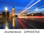 Big Ben And London At Night...