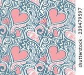 love valentine seamless pattern ...