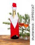 new year decoration   wine...   Shutterstock . vector #239501167
