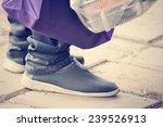 leg and shoe