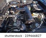 classic car lancia flavia 2000... | Shutterstock . vector #239666827