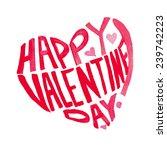 Happy Valentine's Day Letterin...