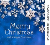 christmas background | Shutterstock . vector #239800933