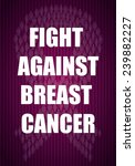 breast cancer | Shutterstock .eps vector #239882227