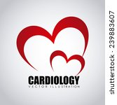 cardiology icon | Shutterstock .eps vector #239883607
