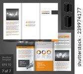 classic vector brochure... | Shutterstock .eps vector #239974177