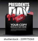 presidents day sale background  ... | Shutterstock .eps vector #239975263