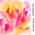 abstract bright watercolour... | Shutterstock . vector #239994193