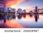 orlando  florida  usa downtown...   Shutterstock . vector #240028987