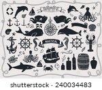 Постер, плакат: Maritime Clip Art