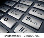 telephone keypad | Shutterstock . vector #240090703