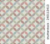 circle seamless pattern | Shutterstock .eps vector #240113413
