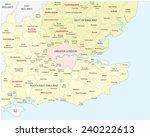 ������, ������: south west england administrative
