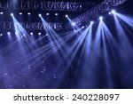 vector stage spotlight with... | Shutterstock . vector #240228097