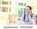 portrait young happy smiling...   Shutterstock . vector #240250387