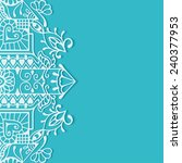 wedding invitation or greeting... | Shutterstock .eps vector #240377953