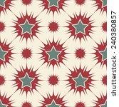 stars seamless pattern retro... | Shutterstock .eps vector #240380857