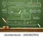 Education Concept Infographic...