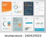 infographic business elements... | Shutterstock .eps vector #240419023