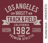 Athletic California Sport...