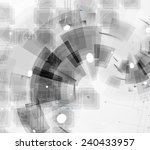 abstract vector background.... | Shutterstock .eps vector #240433957