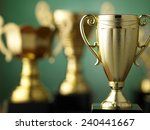 trophy for champion | Shutterstock . vector #240441667