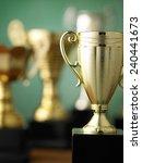 Close Up Champion Golden Trophy