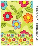 floral seamless pattern | Shutterstock .eps vector #24047869