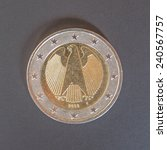 German Two Euro Coin From...