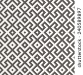 vector seamless pattern. arabic ... | Shutterstock .eps vector #240589897