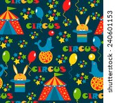seamless pattern with cute... | Shutterstock . vector #240601153