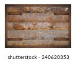 illustration of a wooden panel... | Shutterstock . vector #240620353