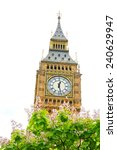 The Famous Big Ben In London...