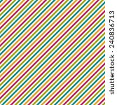 seamless colorful diagonal... | Shutterstock . vector #240836713