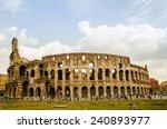 colosseum rome | Shutterstock . vector #240893977