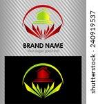 real estate vector logo design...   Shutterstock .eps vector #240919537