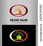 real estate logo template | Shutterstock .eps vector #240919543