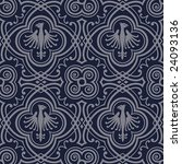 Seamless Pattern With Medieval...