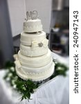 wedding cake | Shutterstock . vector #240947143