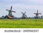 Wind Mills In Zaanse Schans ...