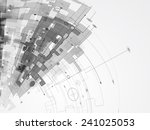 abstract structure circuit... | Shutterstock .eps vector #241025053