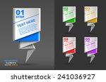 modern business infographics... | Shutterstock .eps vector #241036927