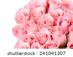 Pink Rose Flower Bouquet On...