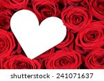 Red Roses With Heart As A...