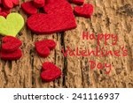 happy valentine's day | Shutterstock . vector #241116937
