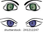 Vector Big Eyes