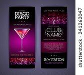 disco corporate identity... | Shutterstock .eps vector #241262047